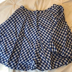 J. Crew a line skirt. Lined with pockets size 0